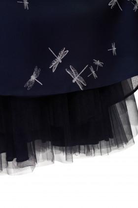 Вечернее платье с подъюбником